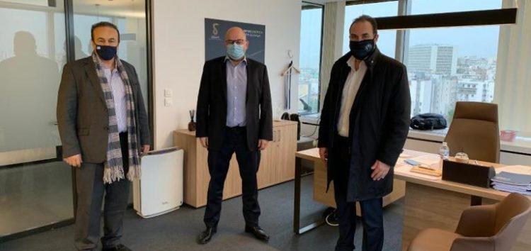 Συνάντηση Γ. Αντωνιάδη και Β. Γιαννάκη με τον Διευθύνοντα Σύμβουλο της ΔΕΔΑ για το φυσικό αέριο στη Φλώρινα