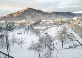 Φλώρινα: Χιόνια παντού και χαμηλές θερμοκρασίες (pics)