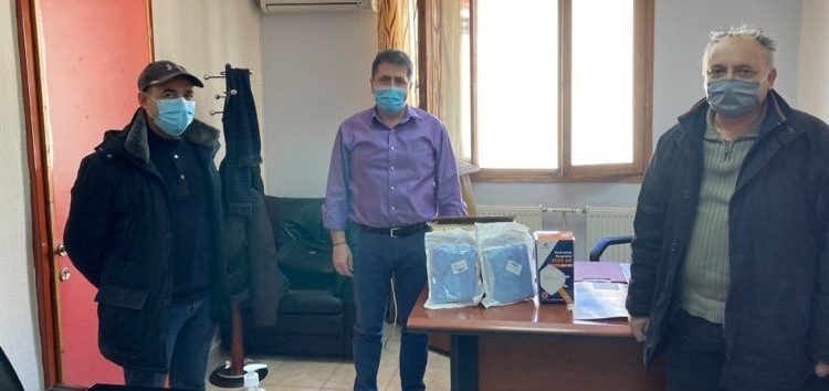 Δωρεά υγειονομικού υλικού από τις Σάρισες στη μνήμη του Κωνσταντίνου Πετσούκη