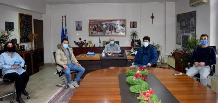 Συνάντηση του Αντιπεριφερειάρχη Φλώρινας Ιωάννη Κιοσέ με τον συντονιστή του ΕΟΔΥ στη Δυτική Μακεδονία Ιορδάνη Ρωμιόπουλο (video)