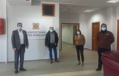Συνάντηση αντιπροσωπείας του ΚΚΕ με τον πρύτανη του Πανεπιστημίου Δυτικής Μακεδονίας Θεόδωρο Θεοδουλίδη