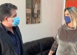 Επίσκεψη της Βουλευτή ΣΥΡΙΖΑ – ΠΣ Φλώρινας Π. Πέρκα στο Γενικό Νοσοκομείο Φλώρινας (pics)