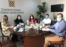 Συνάντηση των Βουλευτών ΣΥΡΙΖΑ – Π.Σ. Δυτικής Μακεδονίας με τις πρυτανικές αρχές του Π.Δ.Μ.: «Οι προθέσεις της κυβέρνησης για υποβάθμιση του Πανεπιστημίου Δυτικής Μακεδονίας θα βρουν αντιμέτωπη όλη την κοινωνία της περιοχής»