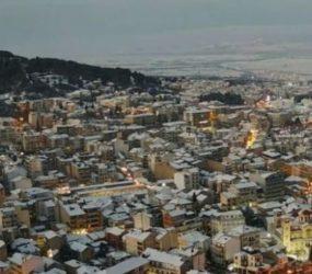 Το πέρασμα του χιονιά από τη Φλώρινα σε 1,5 λεπτό (timelapse video)