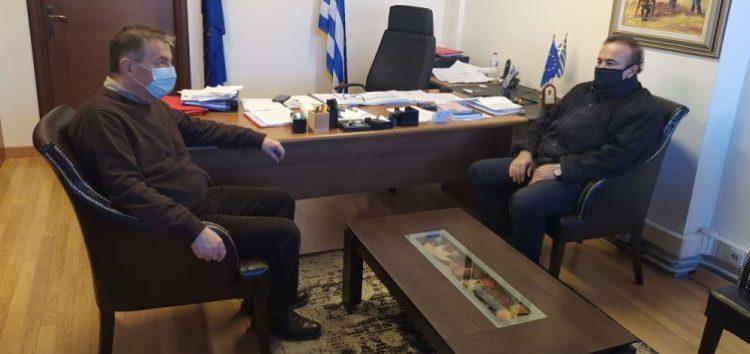 Συνάντηση του βουλευτή Γιάννη Αντωνιάδη με τον δήμαρχο Αμυνταίου