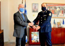 Εθιμοτυπική επίσκεψη του νέου Αστυνομικού Διευθυντή Φλώρινας Παναγιώτη Γεωργιάδη στον Αντιπεριφερειάρχη Φλώρινας