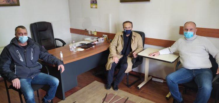 Τα γραφεία του Αγροτικού Συνεταιρισμού Φλώρινας επισκέφτηκε ο βουλευτής Γιάννης Αντωνιάδης