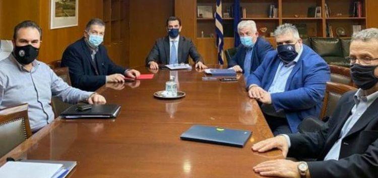 Συνάντηση του Δημάρχου Φλώρινας Βασίλη Γιαννάκη με τον Υπουργό Περιβάλλοντος και Ενέργειας Κώστα Σκρέκα