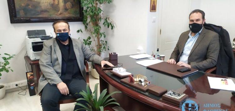 Συνάντηση του Δημάρχου Φλώρινας Βασίλη Γιαννάκη με τον Βουλευτή Φλώρινας της Ν.Δ. Γιάννη Αντωνιάδη