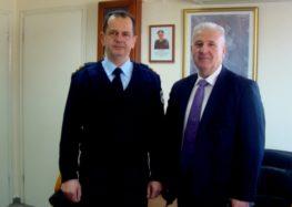 Αποχαιρετιστήριο μήνυμα του Αντιπεριφερειάρχη Φλώρινας στον απερχόμενο Αστυνομικό Διευθυντή Φλώρινας κ. Δημήτριο Παλιογιάννη
