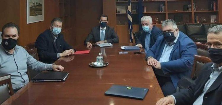 Ο δήμαρχος Αμυνταίου για τη συνάντηση με τον υπουργό Ενέργειας Κώστα Σκρέκα