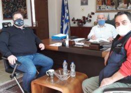 Επίσκεψη μελών του τοπικού συμβουλίου Μελίτης στον Αντιπεριφερειάρχη Φλώρινας