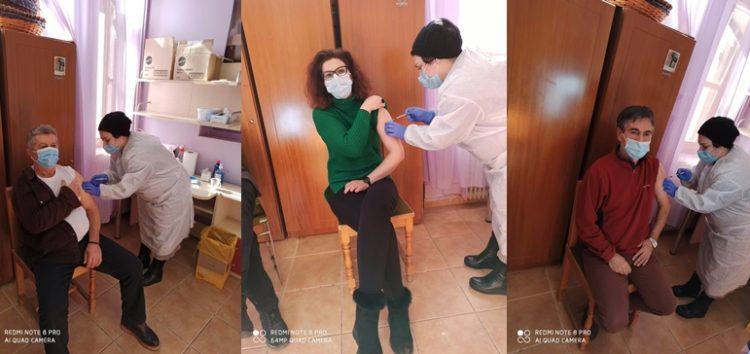 Συνεχίστηκαν οι εμβολιασμοί των εργαζομένων του Κέντρου Κοινωνικής Πρόνοιας (pics)