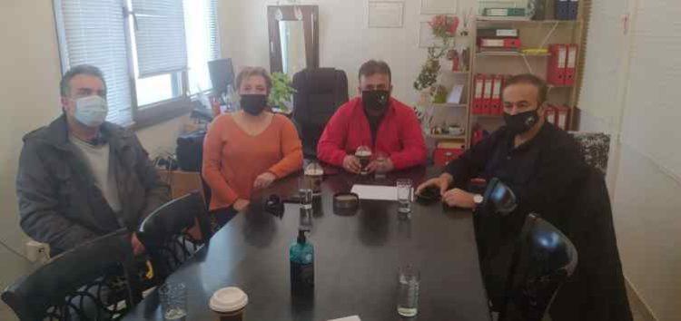 Επίσκεψη του βουλευτή Γιάννη Αντωνιάδη στον Αγροτικό Συνεταιρισμό Ευρύτερης Περιοχής Αμυνταίου