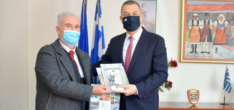 Συνάντηση του Αντιπεριφερειάρχη Φλώρινας με τον Υφυπουργό Εθνικής Άμυνας Αλκιβιάδη Στεφανή