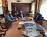 Συνάντηση του βουλευτή Γ. Αντωνιάδη και του δημάρχου Φλώρινας Β. Γιαννάκη με τον αναπληρωτή υπουργό Εσωτερικών Στ. Πέτσα