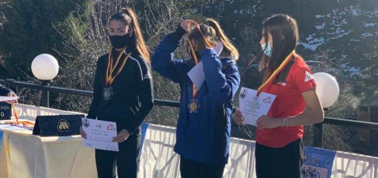 Δύο αργυρά μετάλλια για τη Μαρία Μπέλλη στο Μαύροβο
