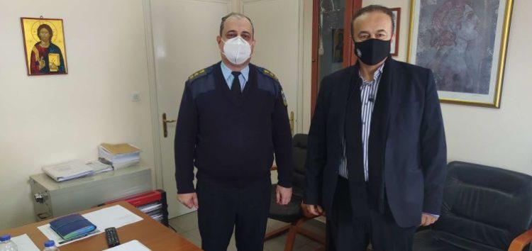 Συνάντηση του βουλευτή Γιάννη Αντωνιάδη με τον νέο Αστυνομικό Διευθυντή Φλώρινας