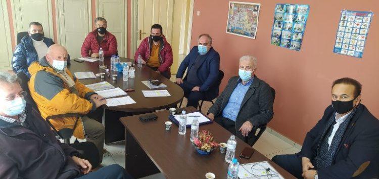 Σύσκεψη φορέων στην Αχλάδα