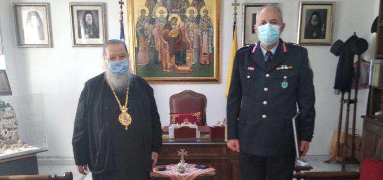 Εθιμοτυπική επίσκεψη του Γενικού Περιφερειακού Αστυνομικού  Διευθυντή Δυτικής Μακεδονίας στο Μητροπολίτη Φλωρίνης, Πρεσπών και Εορδαίας
