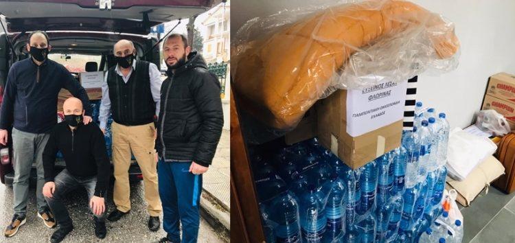 Παράδοση τροφίμων και ειδών πρώτης ανάγκης από την Εύξεινο Λέσχη Φλώρινας στους σεισμόπληκτους της Ελασσόνας (pics)
