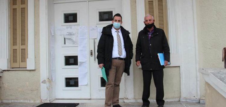 Μηνυτήρια αναφορά για την καθίζηση εδάφους στα Βαλτόνερα κατέθεσε ο δήμαρχος Αμυνταίου