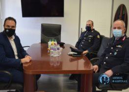 Συνάντηση με τον Γενικό Περιφερειακό Αστυνομικό Διευθυντή Δυτικής Μακεδονίας είχε ο Δήμαρχος Φλώρινας