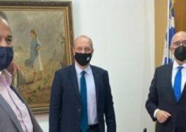 Συνάντηση του Γ. Αντωνιάδη με τον υφυπουργό Αγροτικής Ανάπτυξης και Τροφίμων για το αρδευτικό της Βεγορίτιδας