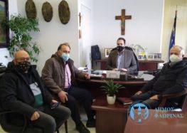 Συνάντηση του Δημάρχου Φλώρινας με μέλη του Επιμελητηρίου για το πρόγραμμα «Ανοιχτά Κέντρα Εμπορίου»
