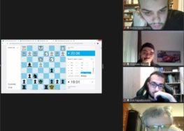 Η Λέσχη Πολιτισμού Φλώρινας στο 1ο Διαδικτυακό Πανελλήνιο Ομαδικό Πρωτάθλημα Σκάκι