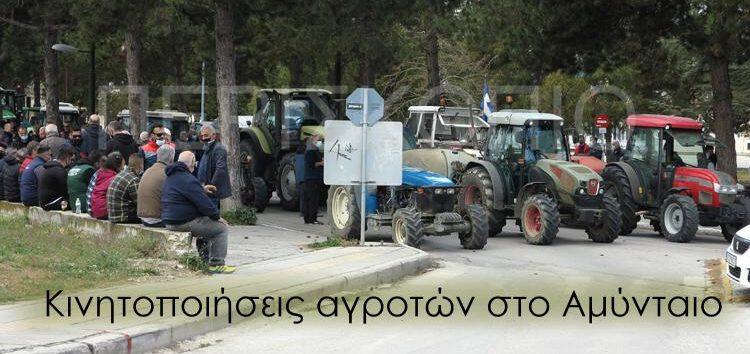 Κινητοποιήσεις αγροτών στο Αμύνταιο με αίτημα αιχμής τις προκαταβολές αποζημιώσεων λόγω παγετού (video)