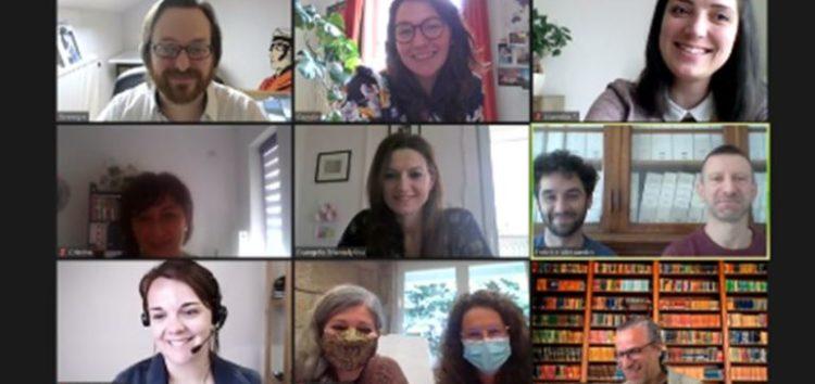 Εναρκτήρια τηλεσυνάντηση στο πλαίσιο του ευρωπαϊκού προγράμματος Erasmus+ με τίτλο «DigitALL»