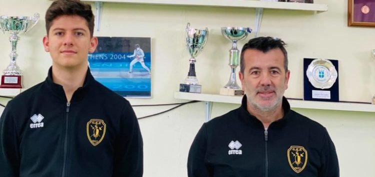 Η ΓΕΦ στο Παγκόσμιο Κύπελλο Εφήβων του Καΐρου με τον Δημήτρη Σαχινίδη και τον Στάθη Γεροσίδερη