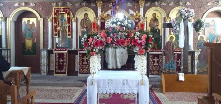 Η Αποκαθήλωση και ο Επιτάφιος του Ιερού Ναού Αγίου Σπυρίδωνα Αχλάδας (videos, pics)