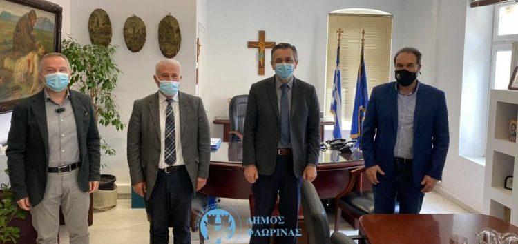 Συνάντηση του Δημάρχου Φλώρινας με τον Περιφερειάρχη Δυτικής Μακεδονίας και τους Αντιπεριφερειάρχες Φλώρινας και Αγροτικής Ανάπτυξης