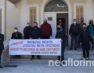 Συγκέντρωση διαμαρτυρίας των δικηγόρων της Φλώρινας (video)
