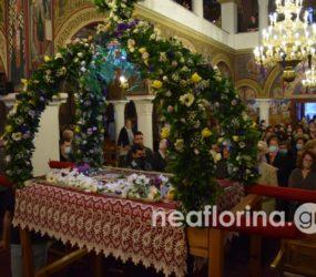 Η περιφορά του επιταφίου στον Μητροπολιτικό Ναό Αγίου Παντελεήμονα Φλώρινας (video, pics)