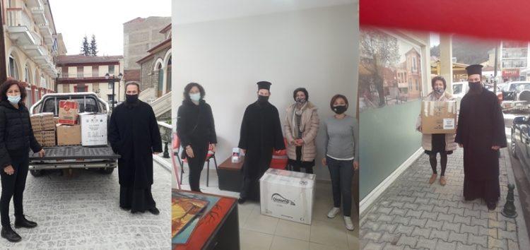 Είδη ρουχισμού προσέφερε το φιλανθρωπικό κατάστημα παιδικών ενδυμάτων «Αγία Ταβιθά» της Μητρόπολης (pics)