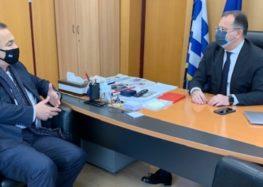 Συνάντηση του Γ. Αντωνιάδη με τον υφυπουργό Ψηφιακής Διακυβέρνησης Γ. Στύλιο