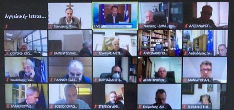 Ο Δήμαρχος Φλώρινας συμμετείχε στη διαδικτυακή ενημερωτική ημερίδα της ΚΕΔΕ με θέμα το Εθνικό Σχέδιο Ανθεκτικότητας και Ανάπτυξης «Ελλάδα 2.0»