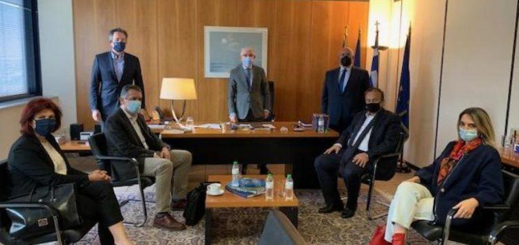Συνάντηση Γ. Αντωνιάδη, βουλευτών Δυτικής Μακεδονίας και Περιφερειάρχη με τον πρόεδρο του ΕΛΓΑ για τις καταστροφές στις δενδροκαλλιέργειες