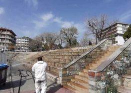 Απολυμάνσεις εξωτερικών κοινόχρηστων χώρων και σημείων στην πόλη της Φλώρινας