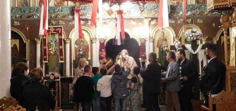 Η Ανάσταση στην κοινότητα Αχλάδα (videos, pics)