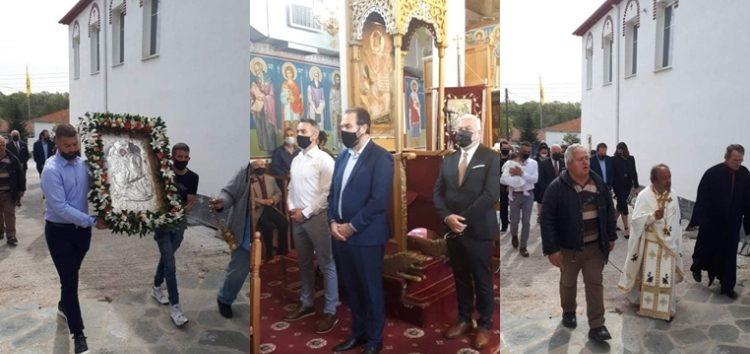 Εορτάστηκε ο πολιούχος της κοινότητας Τροπαιούχου Άγιος Γεώργιος (pics)