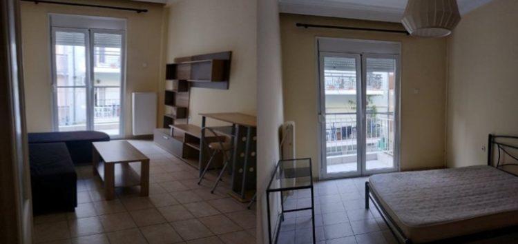 Ενοικιάζεται επιπλωμένο διαμέρισμα στον πεζόδρομο