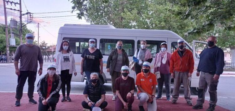 Εθελοντικός καθαρισμός στις κοινότητες Λόφων, Νίκης και Παπαγιάννη (pics)