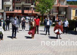 Ο σημερινός εορτασμός της Εργατικής Πρωτομαγιάς στη Φλώρινα (video, pics)