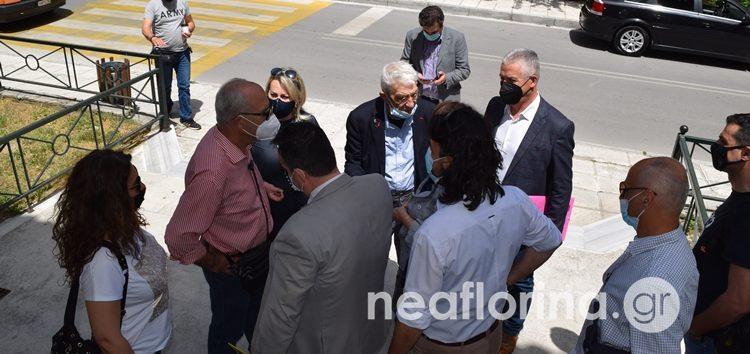 Προσωρινή αναστολή των εργασιών του αιολικού πάρκου στο Νυμφαίο έως την εκδίκαση των ασφαλιστικών μέτρων αποφάσισε το δικαστήριο (video)