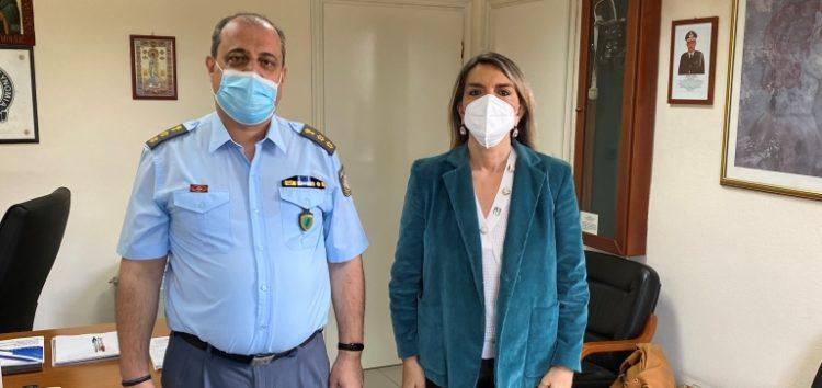 Εθιμοτυπική επίσκεψη της Βουλευτή ΣΥΡΙΖΑ – ΠΣ Π. Πέρκα στην Αστυνομική Διεύθυνση Φλώρινας