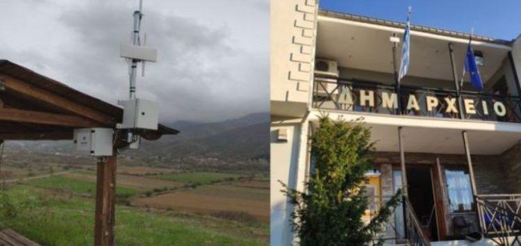 Νέα σημεία πρόσβασης στο διαδίκτυο στον Δήμο Πρεσπών